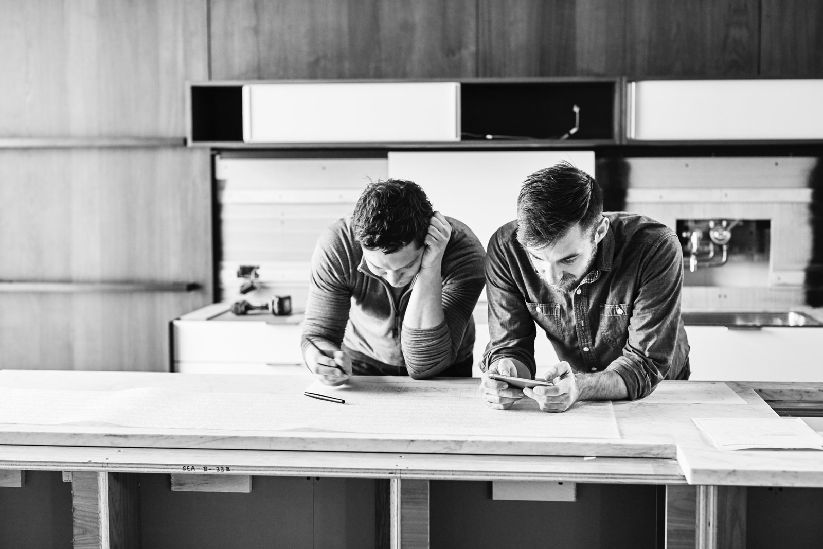 After designers, engineers, and craftspeople mingle and share ideas, they take their findings back to the drawing board where they aim to constantly improve existing products while dreaming up new components.  Photo 2 of 8 in What Goes On Behind-the-Scenes at Henrybuilt's Seattle Test Kitchen
