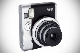 Document all that gift-giving with Fujifilm's Instax camera, a bite-sized Polaroid-type camera with a case that looks like a vintage Leica. Instax Mini 90 Neo Classic camera, $210 on Amazon.