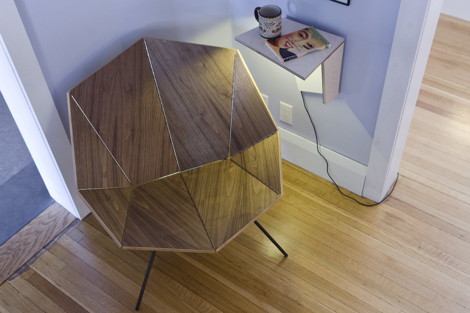 The Cut and Fold line was developed by architects Andrea Kordos and Tony Round, a married couple and half of the Toronto firm blackLAB architects, to adapt to small spaces.  Photo 2 of 6 in Origami-Inspired Furniture You Can Fold Flat