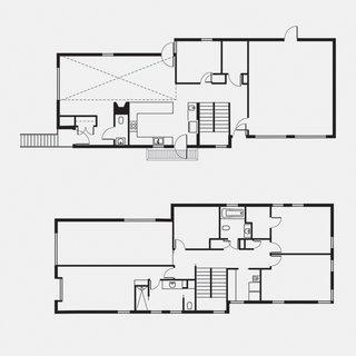 Lola House Floor PlanA Living-Dining RoomB EntranceC Half BathroomD KitchenE OfficeF Mud RoomG GarageH Master BedroomI Master BathroomJ Master ClosetK BathroomL Laundry RoomM Bedroom