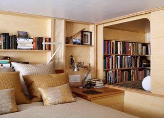 Space-Saving Wood-Paneled Apartment in Manhattan - Photo 2 of 8 -