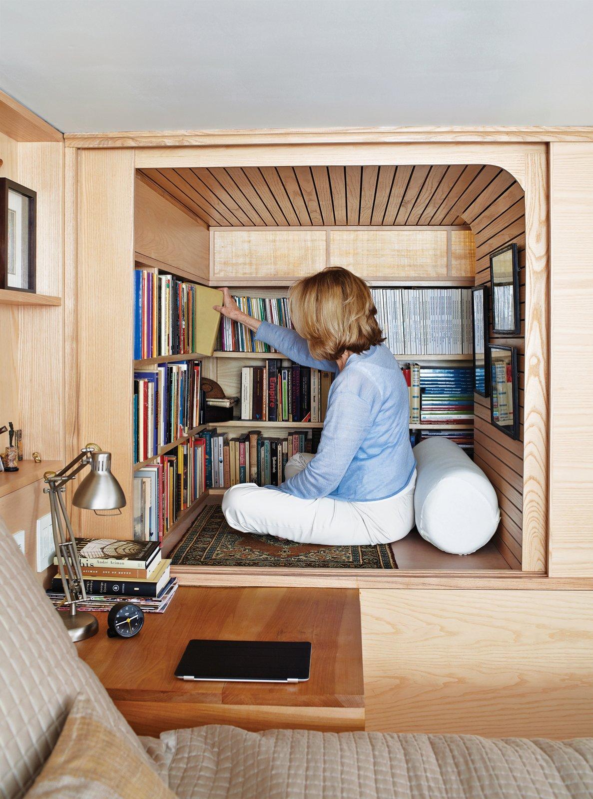 Space-Saving Wood-Paneled Apartment in Manhattan