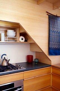 Space-Saving Wood-Paneled Apartment in Manhattan - Photo 7 of 8 -