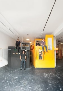 The Miner and Major is an experiment in communal living and fantastical form.