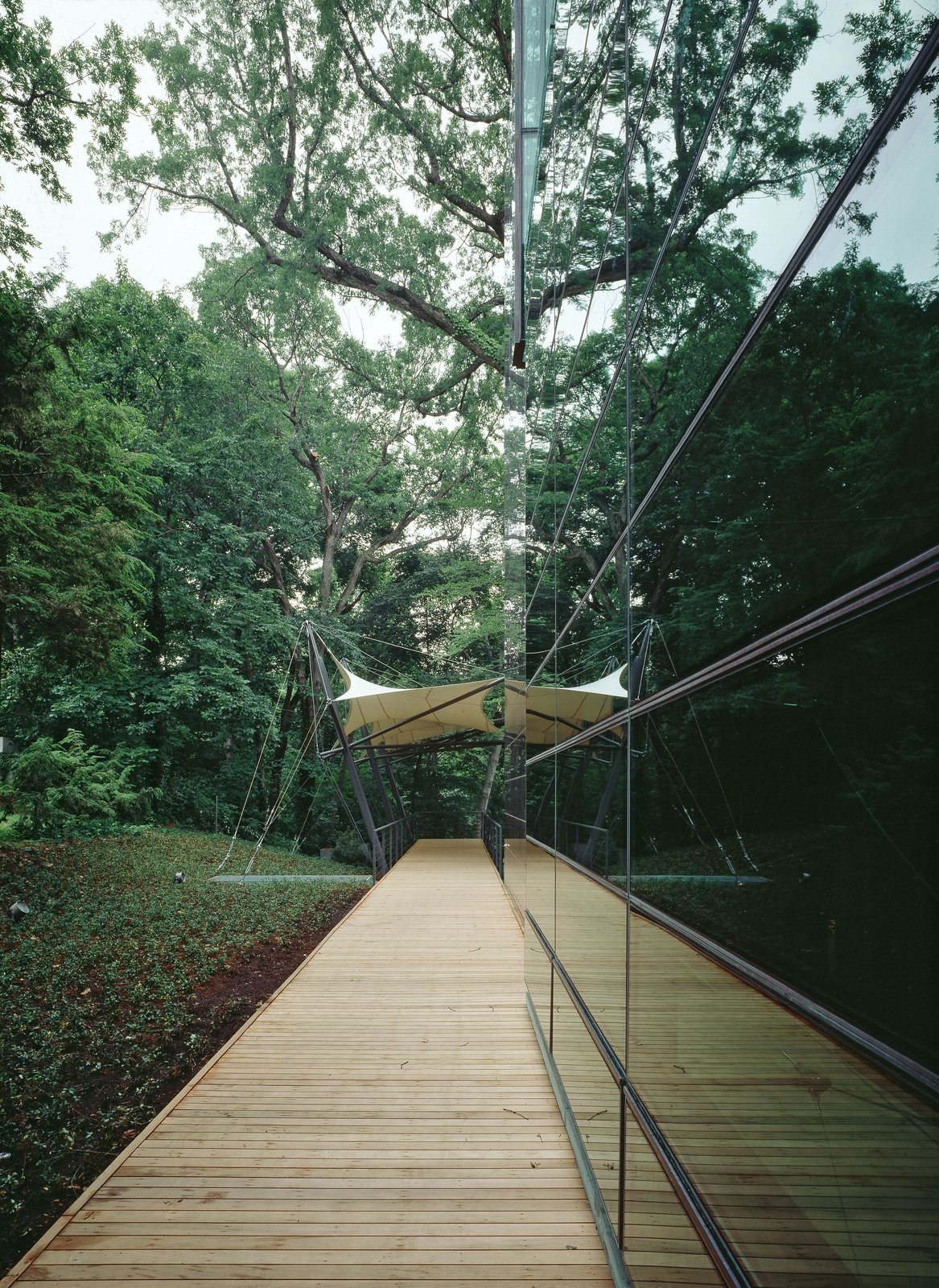 The building overlooks Rock Creek Park.  Photo 2 of 6 in Finnish Embassy in Washington Receives Platinum LEED Certification