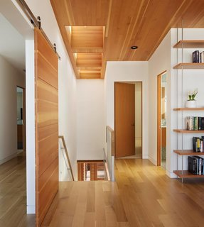 Photo of the Week: Pleasing Wood Surfaces Line This Oregon Coast Beach House