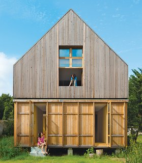 Eco-Friendly A-Frame in the French Countryside - Photo 1 of 4 -