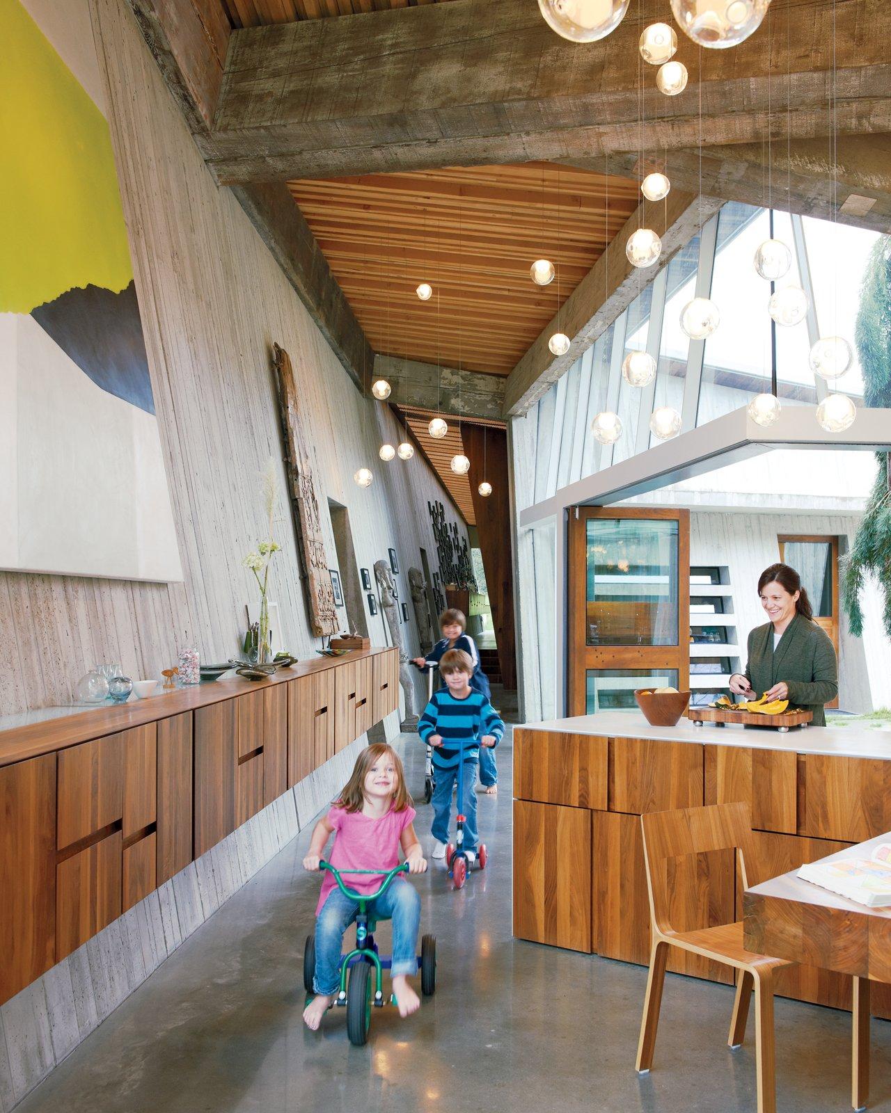 top omer arbel. Top Omer Arbel. Arbel Kitchen Wood Cabinet Concrete Floor And Pendant Lighting The