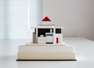 Sottsass first visited Maui in 1989, de-boarding the plane with an architectural model in tow. It was the firstof many iterations the home underwent over the next few years, before construction began in 1995.