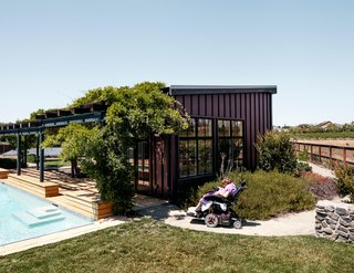 Architect Erick Mikiten helped Melanie and David Maher build a house in Livermore, California.