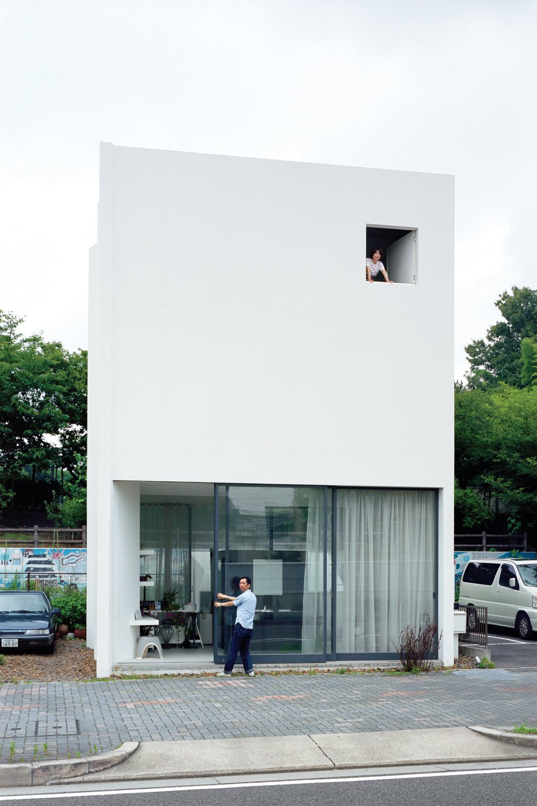 Small Space Live/Work Box Home in Japan - Dwell