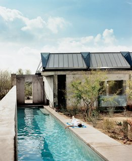 After months spent researching solutions to make her home's fabric roof functional, Lisa Sette can finally relax.
