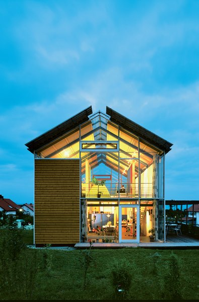 Steel Framed Split-Level Home in Germany - Dwell Steel Frame Homes Near Me