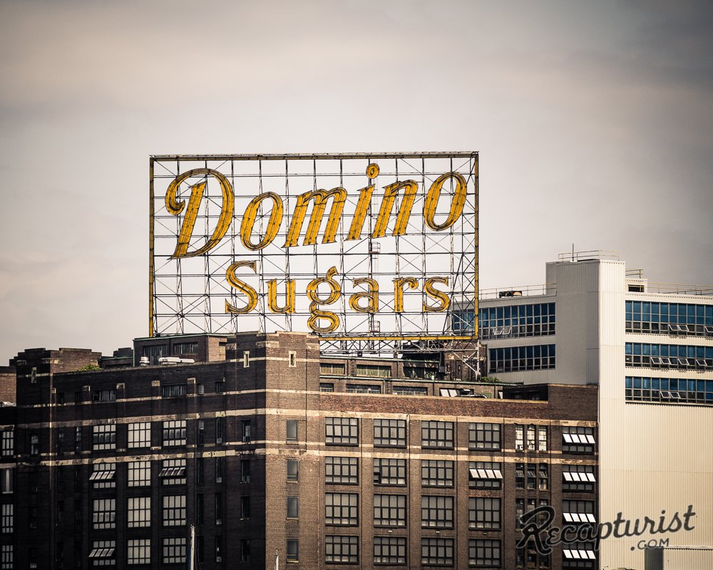 Domino Sugars, Baltimore, Maryland.  Photo 9 of 9 in These Amazing Vintage Signs Are a Blast from America's Past