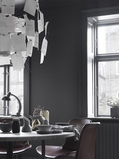 Black, White, and Gray All Over: Monochromatic Copenhagen Townhouse - Photo 2 of 12 -