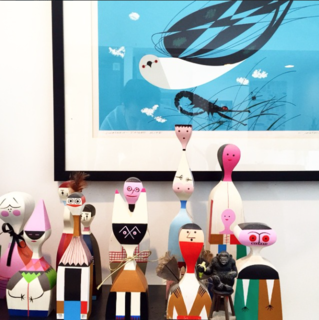 Photo of the Week: Alexander Girard and Charley Harper Pairing - Photo 1 of 1 -
