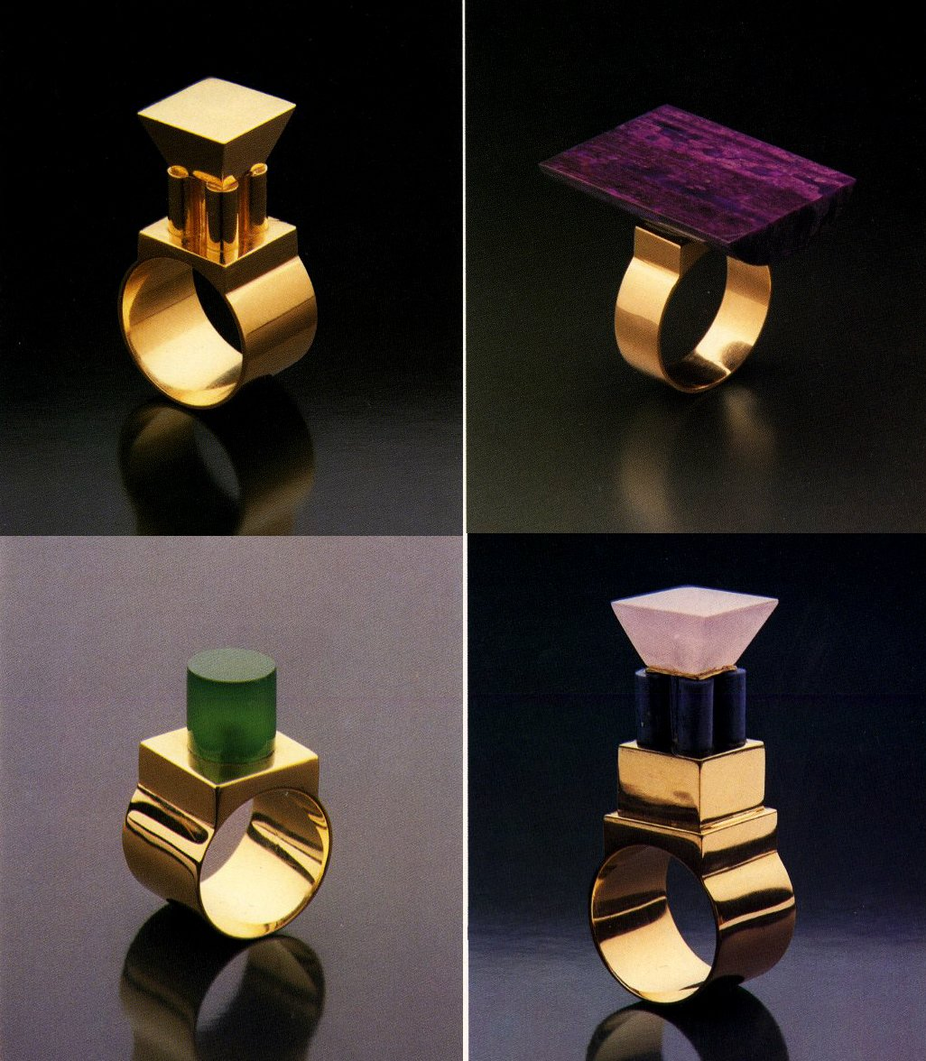 Eye-Popping Jewelry Designed by Postmodern Architects