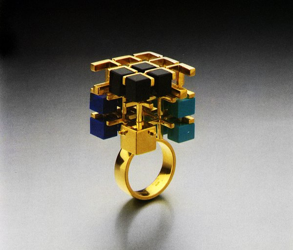 Eye-Popping Jewelry Designed by Postmodern Architects - Photo 3 of 5 -