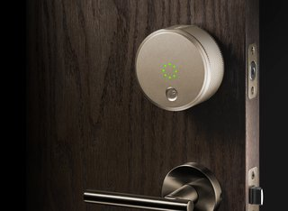 """Smartphone-operated door locks from companies like August and Kwikset are great,"" Raizin says. ""No more leaving a spare key under the mat, and if your hands are full, the device recognizes your phone and unlocks the door for you."""