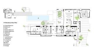 F-5 Residence Floor Plan