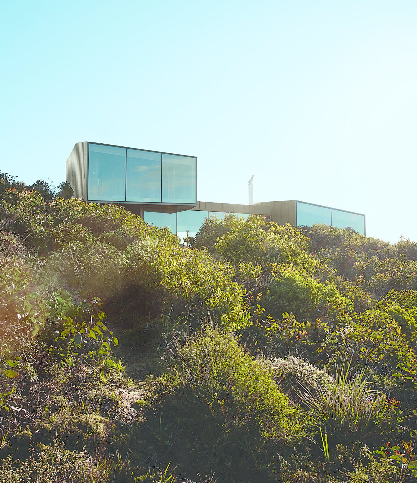 This home in the village of Fairhaven gazes over the area's longest beach and an open sea that stretches all the way to Antarctica.  Photo 1 of 9 in A Eucalyptus-Lined Oceanfront Home in Australia