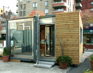 Inexpensive, Easy-Assembly Shipping Container Home - Photo 2 of 5 -