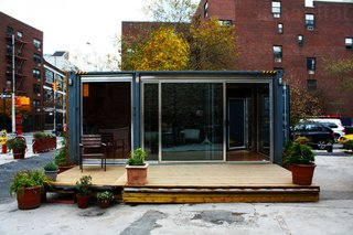 Inexpensive, Easy-Assembly Shipping Container Home - Photo 3 of 5 -