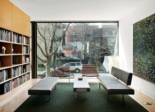 A Brick-Clad Modern Family Home in Chicago - Photo 1 of 8 -