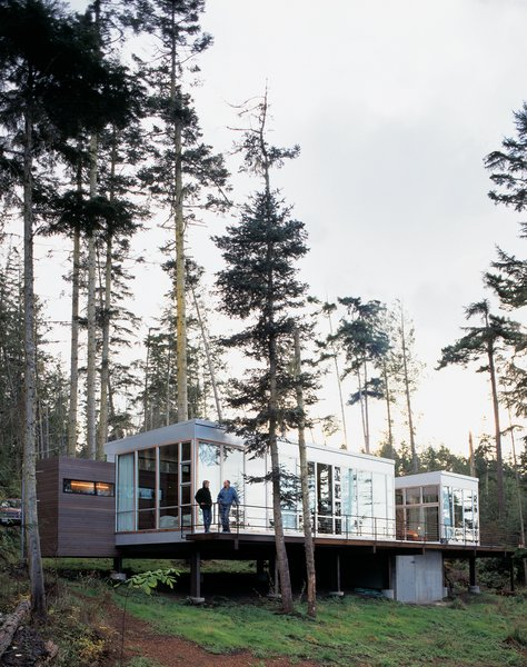 Washington State Vacation Home Sets the Stage
