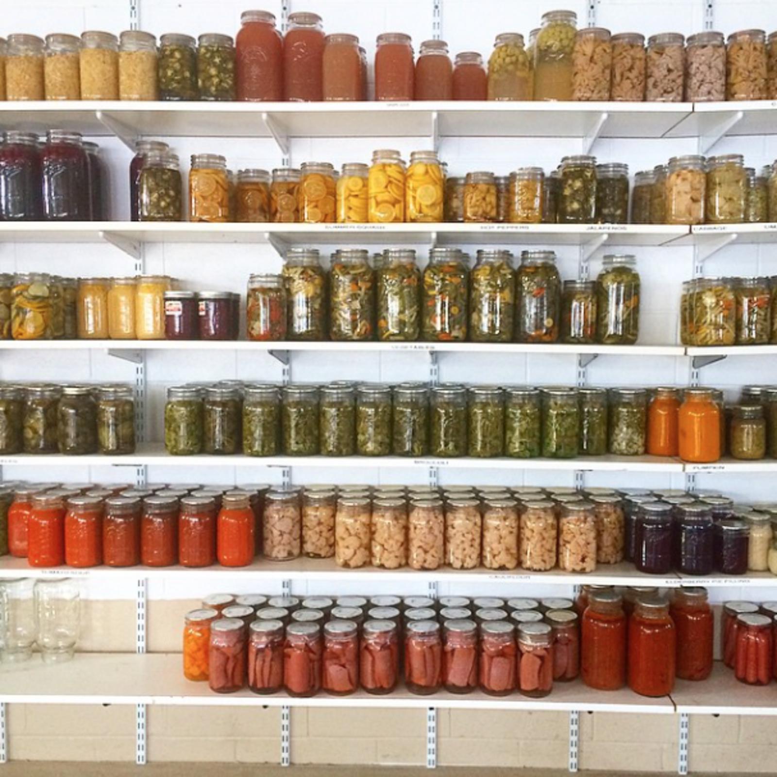 Photo 1 of 1 in Photo of the Week: Jars on Jars on Jars