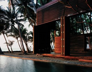 Wood-Clad Seaside Retreat in India - Photo 1 of 1 -