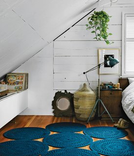 11 Examples of How to Incorporate Traditional Building Materials Into Your Modern Home - Photo 11 of 12 - The walls and ceiling would originally have been covered in plaster, but are instead just covered in paint to reveal the texture of the wood underneath.