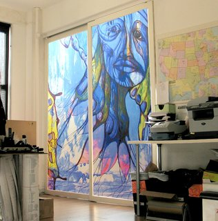 Place Your Bid Here: Sliding Doors with One-of-a-Kind Mural Up for Auction to Benefit Charity - Photo 7 of 7 -