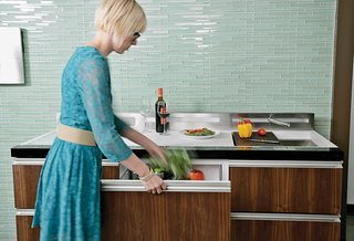 Clever Concept Tackles Movement Toward Smaller Kitchens - Photo 1 of 4 -