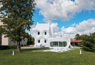 Surrealist Architecture: Synagogue de Delme in France - Photo 1 of 1 -