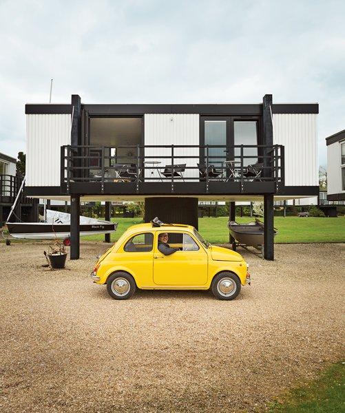 An Elevated Deckhouse in England