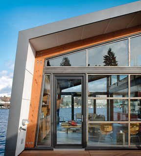 A Renovated Boathouse on Seattle's Portage Bay - Photo 2 of 2 -
