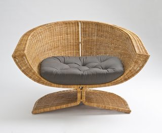 The Lotus Chair by Miller Yee Fong for Fong Brothers Co., 1968. Photo by Museum Associates/LACMA.