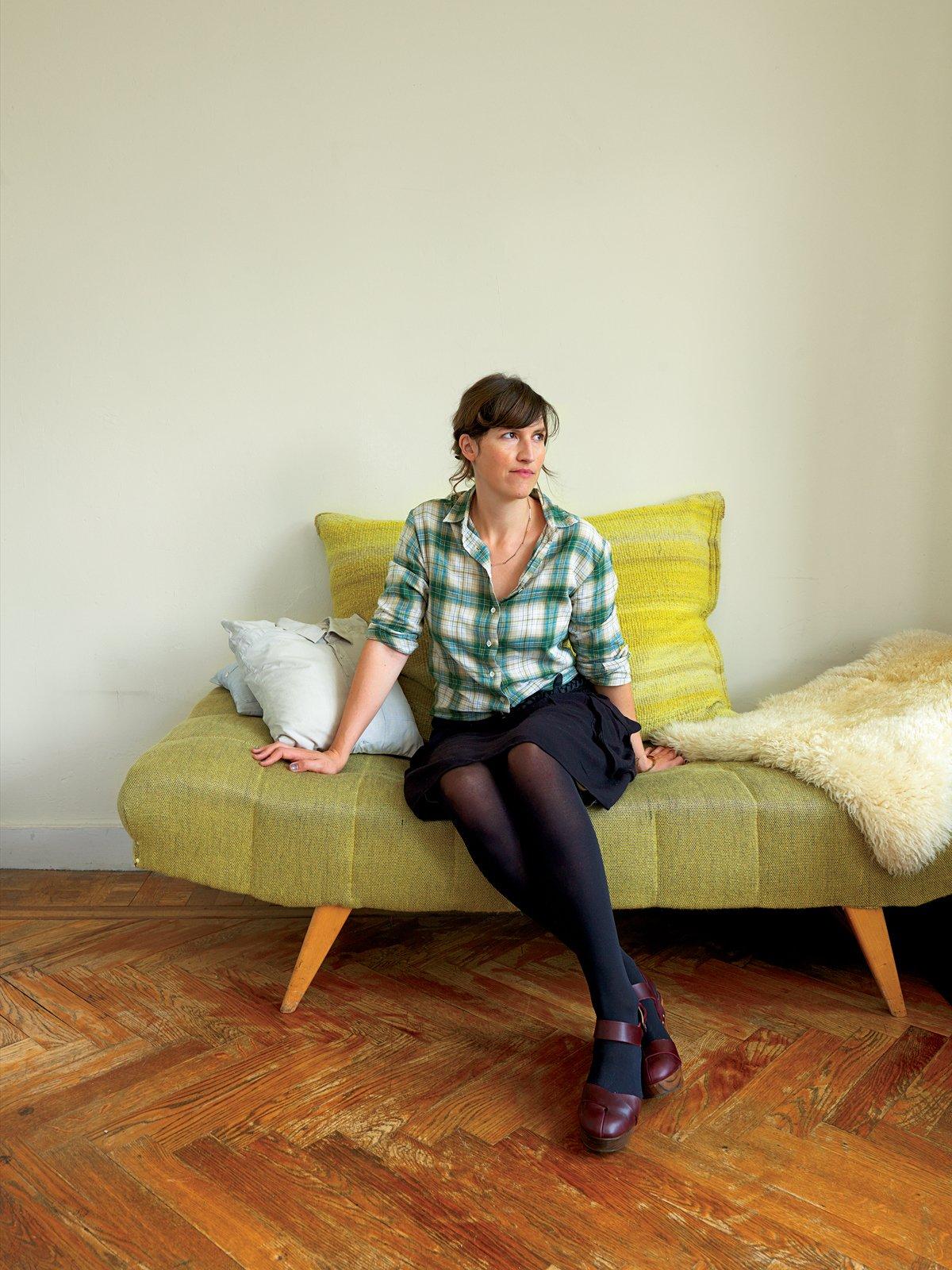 Living Room, Sofa, and Medium Hardwood Floor Designer Christiane Hogner, Bruxelles  Photo 1 of 15 in Kind of New