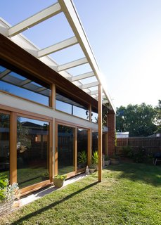 An Australian Architect's Simple Brick House With Impressive Green Roof - Photo 2 of 8 -