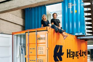 How to Buy a Shipping Container - Photo 1 of 12 - One of the most important steps in buying your own shipping container is finding a reputable distributor.