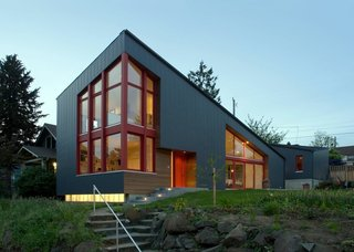 Angular Multi-Generational Home in Washington - Photo 1 of 5 -