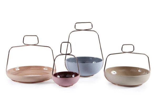 """Muslet by Ilaria Innocenti for Incipit""""It wasn't easy to find a good craftsman in Italy doing the kind of piece I wanted for my project,"""" says Innocenti, """"After experimenting with a lot of alternative solutions, we found a small company that could curve metal wire in a very flexible way in terms of production and quality."""""""