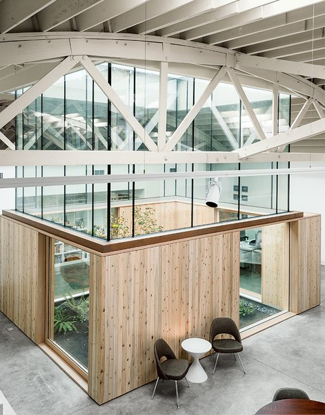 For the residents of a singular home in Portland, Oregon, which is centered around a meditative atrium, the connection to the outdoors was essential to their idea of home.