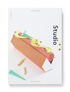 The very fitting cover of the Chicago Issue of Studio Magazine, featuring a ketchup-free Chicago dog. The Auckland, New Zealand-based publication profiles creative workspaces around the world.