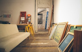 The Post Family is a seven-member design collective that built its own gallery, letterpress, and screenprinting studio.