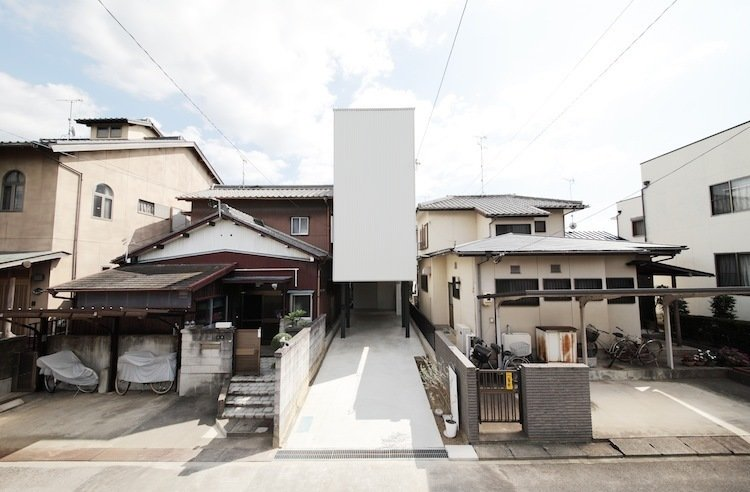 Imai House by Katsutoshi Sasaki + Associates  The narrow profile of this home covers just over 750 square feet, but still manages to provide an airy environment.  Photo provided by Katsutoshi Sasaki + Associates  Photo 1 of 7 in Minimal Home on a Narrow Plot in Japan