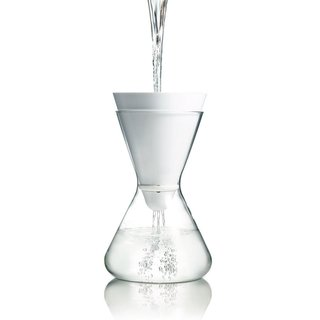 The Soma Water Filter is available at the Dwell Store for $49.