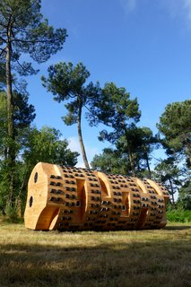Tiny Vacation Shelters in the French Countryside - Photo 5 of 8 -