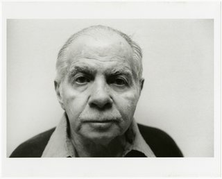 The Dorothy and Herbert Vogel Modern Art Collection - Photo 1 of 11 - Lucio Pozzi, Portrait of Herbert Vogel, 2001, black-and-white photograph. Bowdoin College Museum of Art, Brunswick, Maine, Dorothy and Herbert Vogel Collection Vogel Collection. © Pozzi 2001
